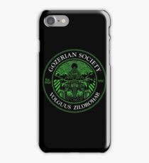 Gozerian Society - Green Slime Variant iPhone Case/Skin