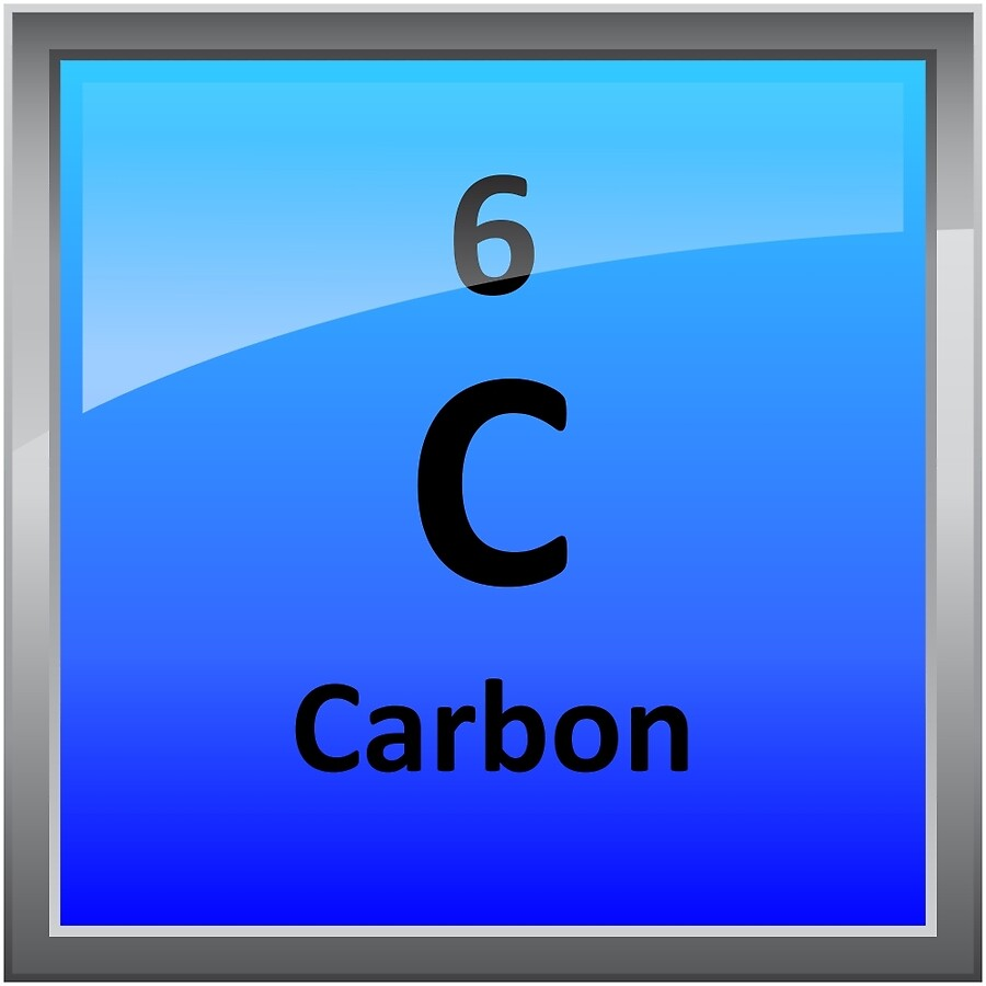 Carbon element tile periodic table art boards by sciencenotes carbon element tile periodic table urtaz Gallery