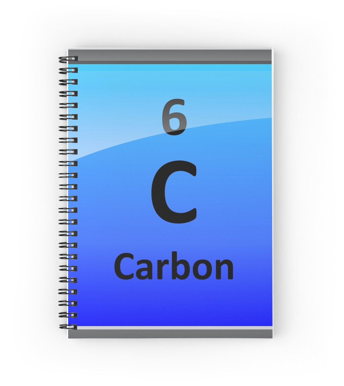 Carbon element tile periodic table spiral notebooks by carbon element tile periodic table by sciencenotes gamestrikefo Image collections
