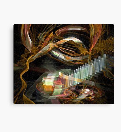 Spontaneous Combustion Canvas Print