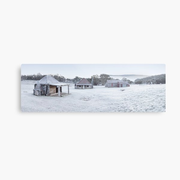 Frosty Coolamine Homestead, Kosciuszko National Park, New South Wales, Australia Metal Print