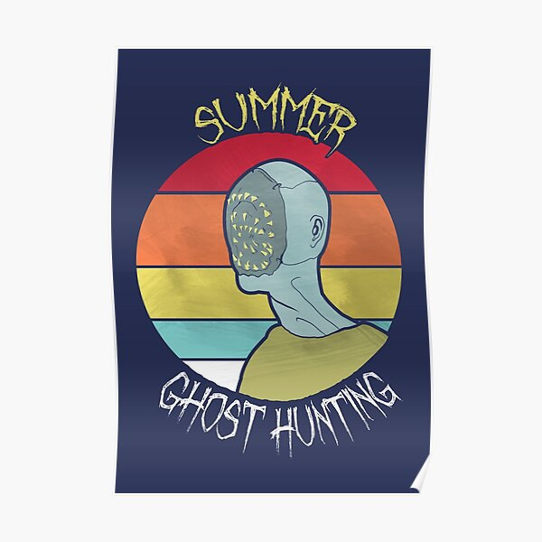 Phasmophobia: Chill Summer Ghost Hunting Poster