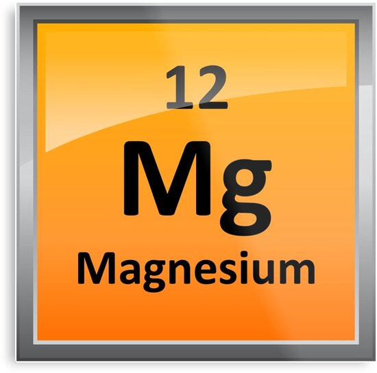 Magnesium element tile periodic table metal prints by magnesium element tile periodic table by sciencenotes urtaz Image collections