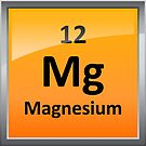 Magnesium Element Tile - Periodic Table by sciencenotes