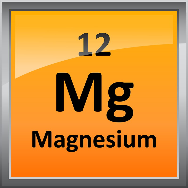Magnesium element tile periodic table stickers by sciencenotes magnesium element tile periodic table by sciencenotes urtaz
