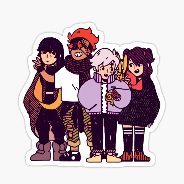 DGM OT4 colored Sticker