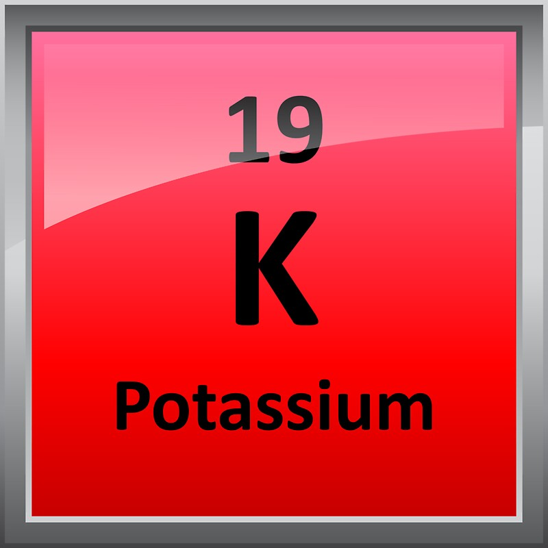 Potassium k periodic table element symbol stickers by potassium k periodic table element symbol by sciencenotes urtaz Gallery