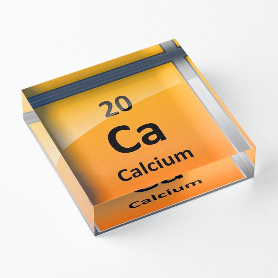 Calcium element symbol periodic table acrylic blocks by calcium element symbol periodic table biocorpaavc
