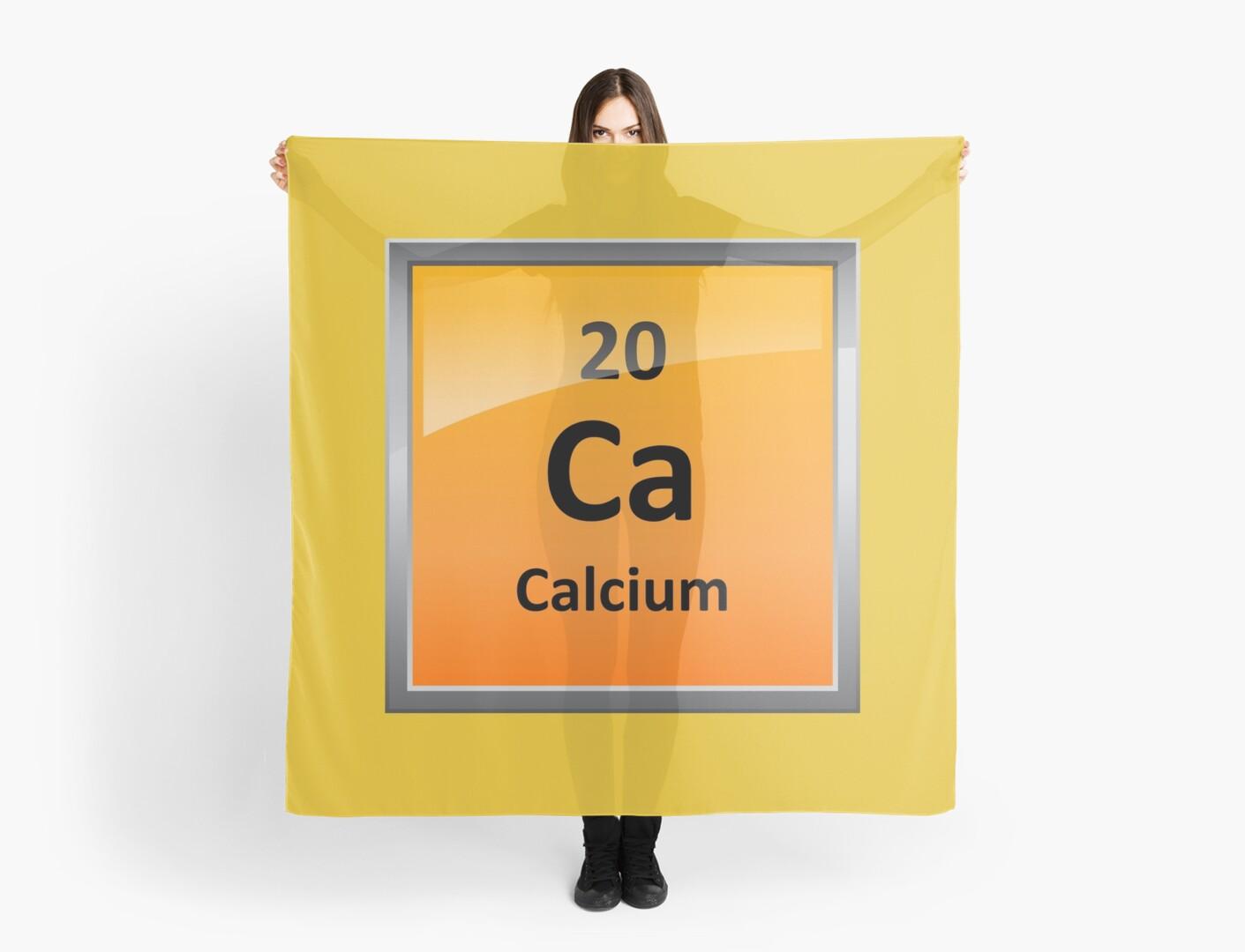 Calcium element symbol periodic table scarves by sciencenotes calcium element symbol periodic table by sciencenotes buycottarizona