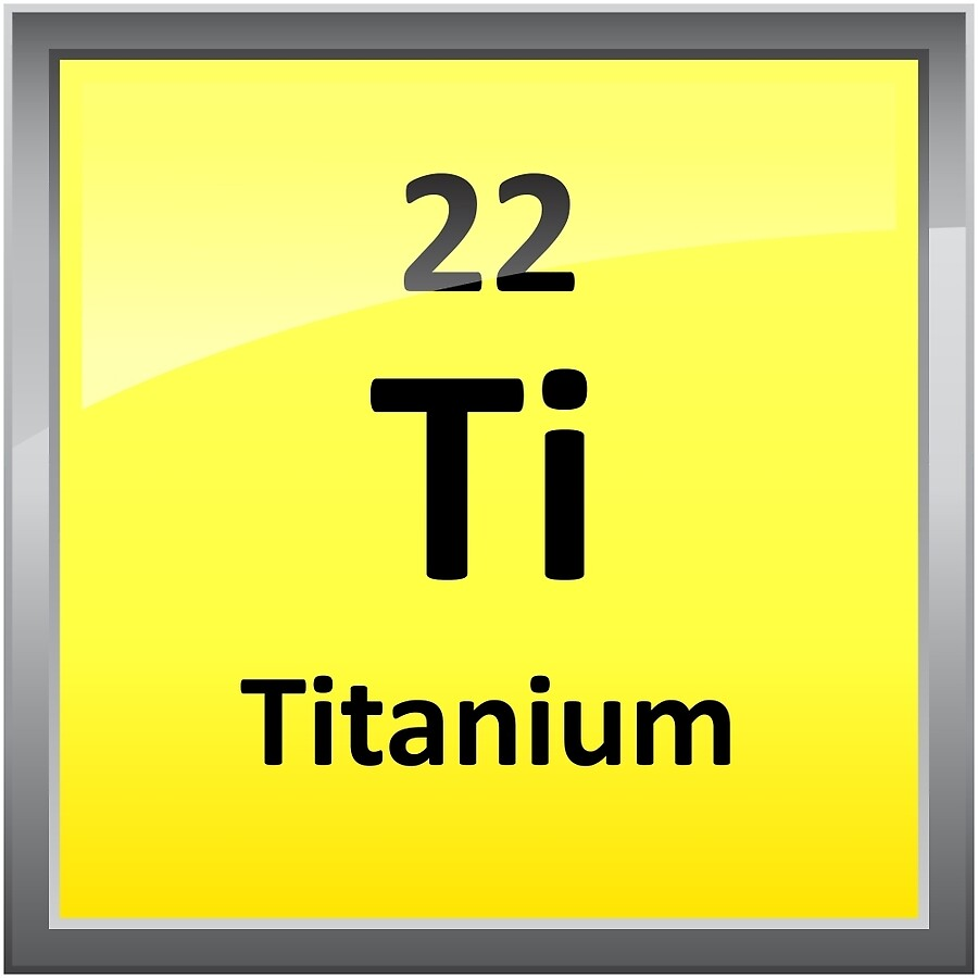 Titanium element symbol periodic table acrylic blocks by titanium element symbol periodic table acrylic blocks gamestrikefo Images