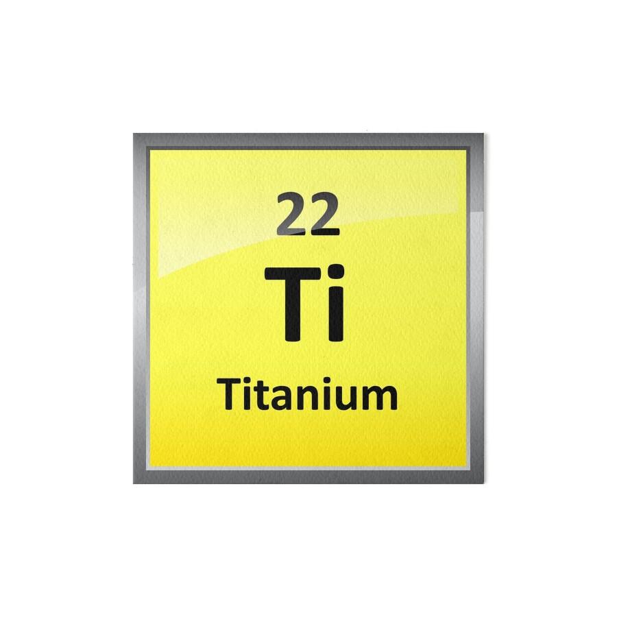 Lminas de exposicin smbolo del elemento de titanio tabla smbolo del elemento de titanio tabla peridica de sciencenotes urtaz Choice Image