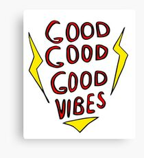 Cool cool cool vibes Canvas Print