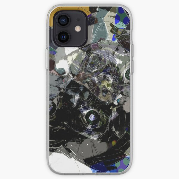 Abstract Neon Lights iPhone Soft Case