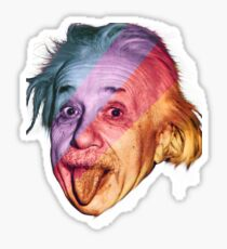 Pop Einstein Sticker