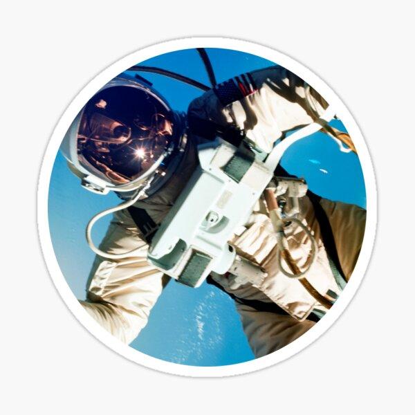 Space Walking Astronaut Sticker