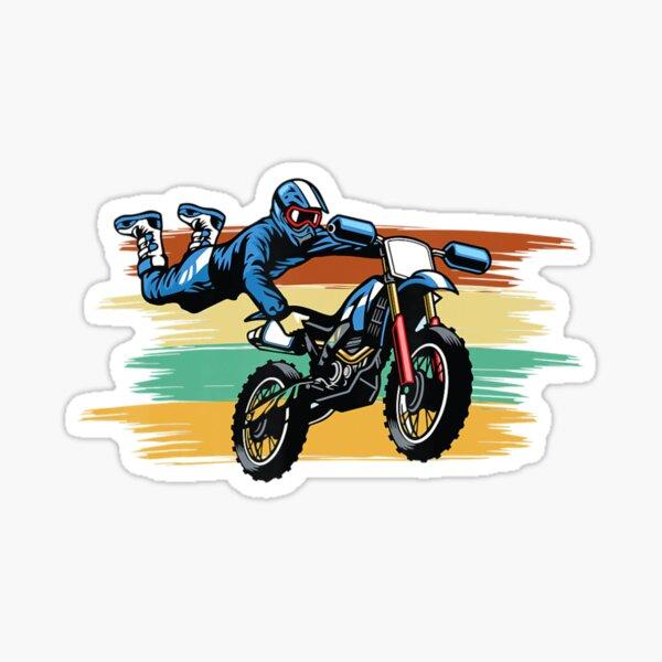 Motocrosmotorbike Biker Motorsport Bike Chopper Driver Sticker
