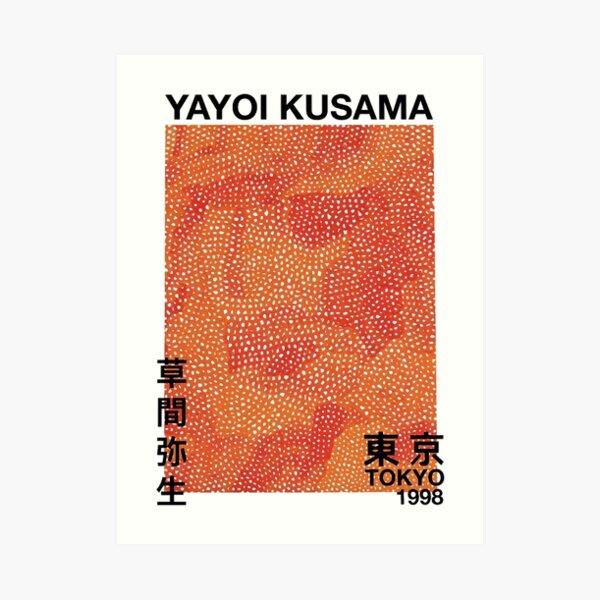 Yayoi kusama Exhibition Art Print