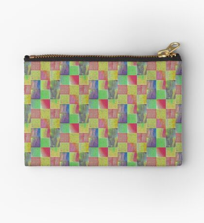 #DeepDreamed factures Zipper Pouch