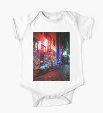 Evening in Hosier Lane One Piece - Short Sleeve