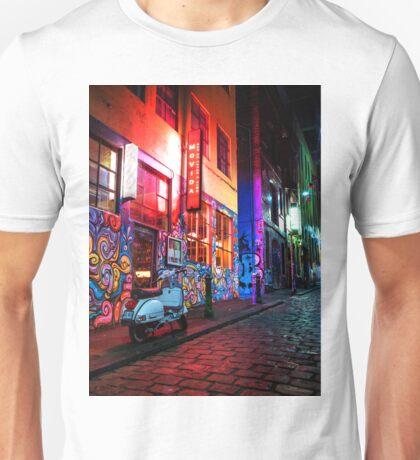 Evening in Hosier Lane Unisex T-Shirt
