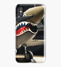 Tiger Shark Airplane WWII  iPhone Case