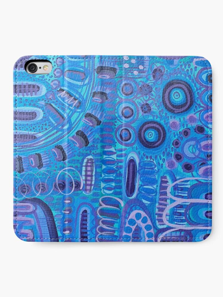 Alternate view of Moody Blues iPhone Wallet