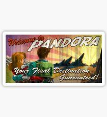 Welcome to Pandora Sticker