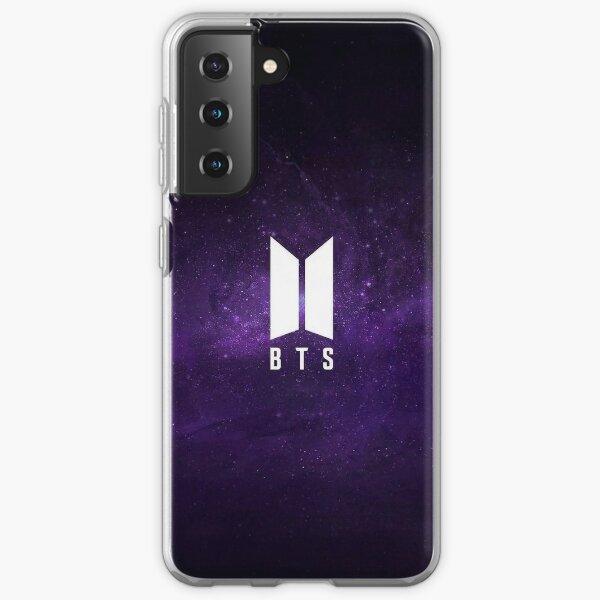 Galaxia del logotipo de BTS Funda blanda para Samsung Galaxy