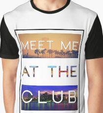 GREEN VELVET | MEET ME AT THE CLUB Graphic T-Shirt