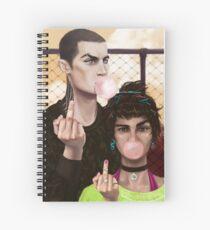 Bronan Spiral Notebook