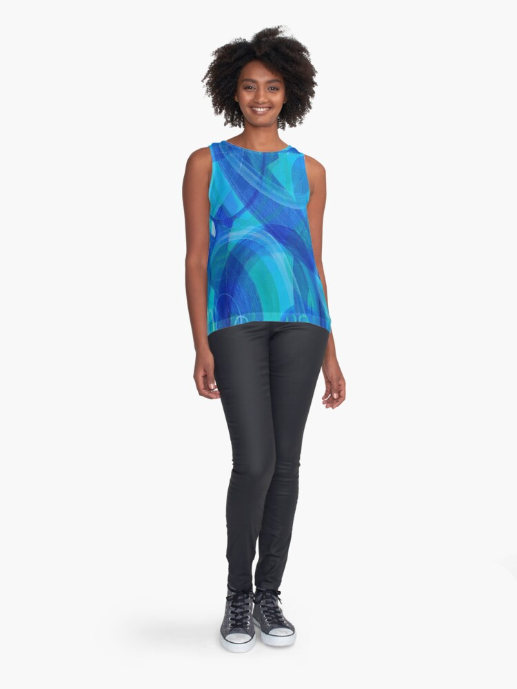 Alternate view of Dive In Sleeveless Top