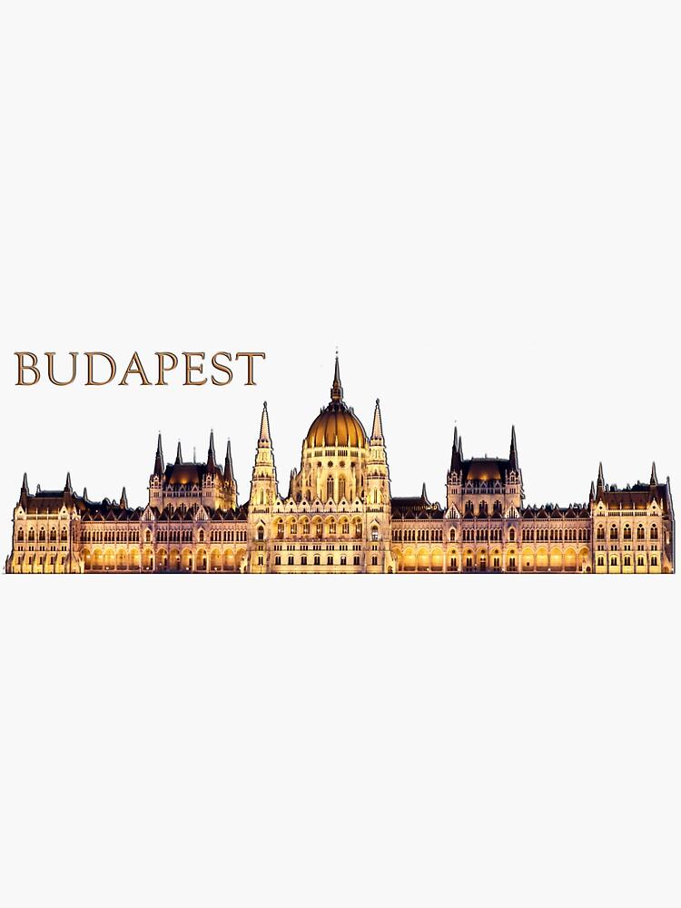 Budapest Travel Souvenir by raetucker