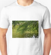 Tree with the leaves in the water. T-Shirt