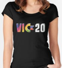 Vic 20 Women's Fitted Scoop T-Shirt