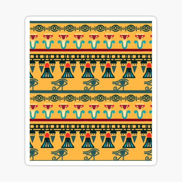 Ethnic Ornaments Sticker