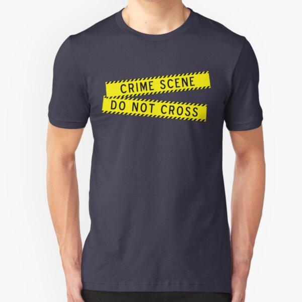 Crime Scene Do Not Cross Slim Fit T-Shirt