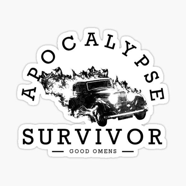 Kopie von Survivor of Apocalypse Sticker