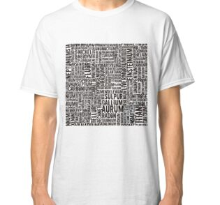Chemical Elements Classic T-Shirt