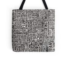 Chemical Elements Tasche