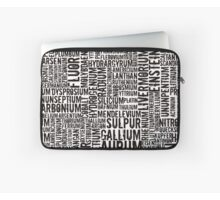 Chemical Elements Laptoptasche