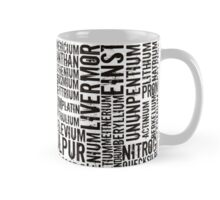 Chemical Elements Tasse