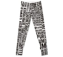 Chemical Elements Leggings