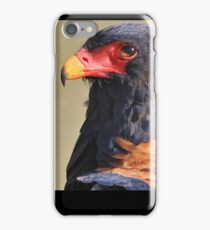 Bateleur Eagle - African Wildlife - Colorful Power iPhone Case/Skin