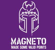 Magneto Made Some Valid Points - Dark Background | Unisex T-Shirt