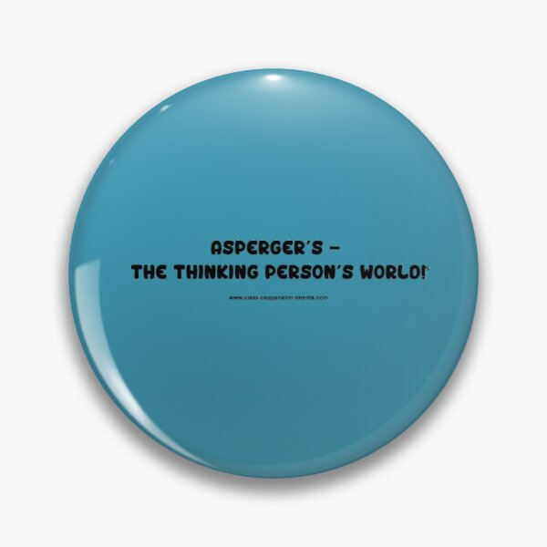 Thinking Person's World Pin