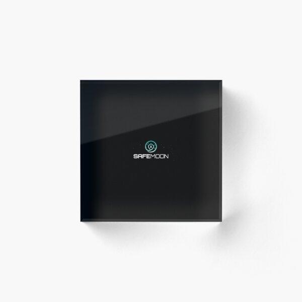 Safemoon coin Acrylic Block