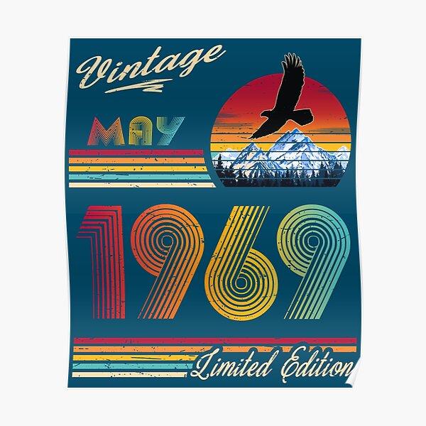 May 1969 Birthday Poster