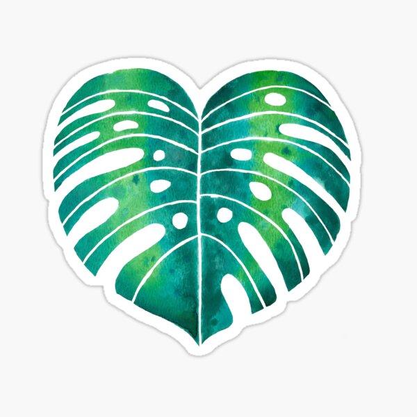 Tropical plants Sticker
