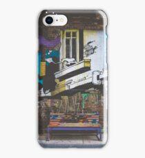 Graffiti Bench iPhone Case/Skin