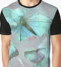 Seamless Pattern With Butterflies Graphic T-Shirt